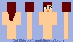 Blank Man Minecraft Skin