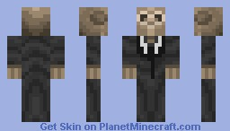Silence - Doctor Who Minecraft Skin