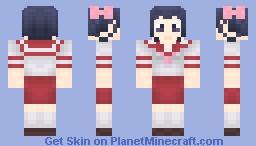[TWGOK] Tenri + Tsukiyo, Shiori, Ayumi, Chihiro Minecraft Skin