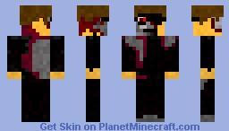 Terminator Minecraft Skin