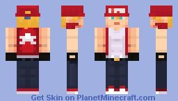 Terry Bogard ( KOF ) Minecraft Skin