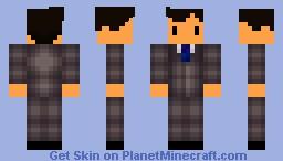 Tesla- Master of Lighting Minecraft Skin