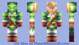 Link - LoZ Minecraft