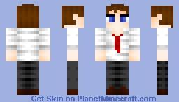 Mr. Hugeeyes Minecraft Skin