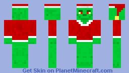 The Grinch Minecraft Skin