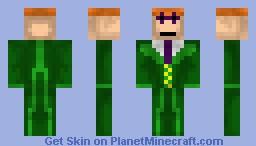 The Riddler - Book/Movie Contest Minecraft Skin