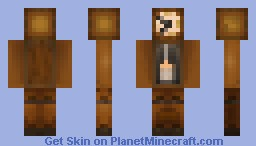 The Grandfather Clock [contest entry] Minecraft Skin