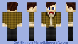 The 11th Doctor (Includes Fez Version) Minecraft Skin