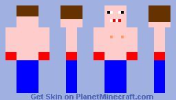 The Boxer Minecraft Skin