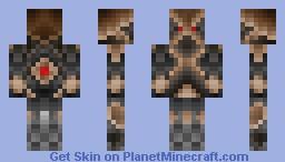 The Darkcrafter knight Minecraft Skin