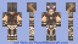 The Dragonborn Minecraft Skin
