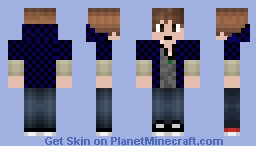 The Game-X Hero Hunger Games Minecraft Skin