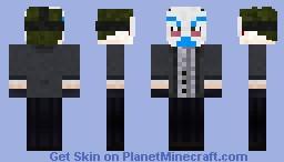 joker skin minecraft dark night