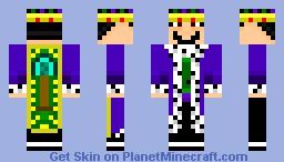 The Homie King Minecraft Skin