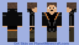 The Hunger Games Minecraft Skin