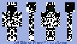 The Lost Pixelman Minecraft Skin