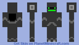 Robo warrior Minecraft Skin