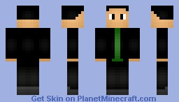 The Ninth Doctor Minecraft Skin
