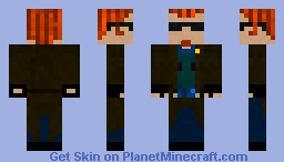 The Postal Dude (3) Minecraft Skin