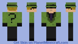 The Riddler Minecraft Skin