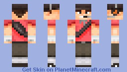 The Scout (TF2) Minecraft Skin