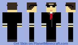 Server Admin Minecraft Skin