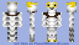 The Snowy Owl - Messenger of the Gods Minecraft Skin