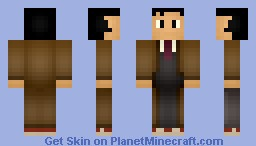 The Tenth Doctor Minecraft Skin