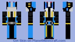 Kamen Rider Diend Minecraft Skin