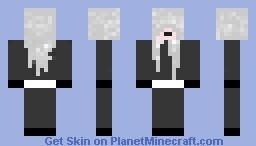 The Undertaker- Black Butler Minecraft Skin