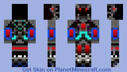 The Freak 3.0 (Power Suit) Minecraft Skin