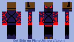 Too Scary to have a name! Minecraft Skin