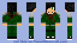 Fireflare [Long journey style] Minecraft Skin