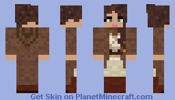 Female Jedi Master Minecraft Skin