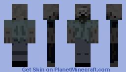 The walking dead Zombie Minecraft Skin