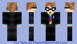 This dude is Mad. Minecraft Skin