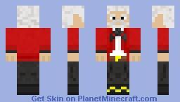 Sir Thomas Crapper Minecraft Skin