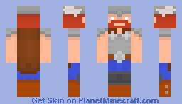 Thor, the god Minecraft Skin