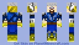Social Empires- Thor Minecraft Skin