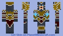 League of Legends - Thunderlord Volibear Minecraft Skin