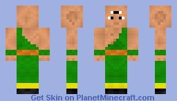 Tien (DBZ) Minecraft Skin