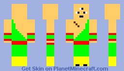 Tien Shinhan Minecraft Skin