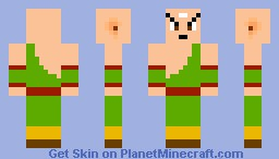Tien - Dragon Ball Z Minecraft Skin