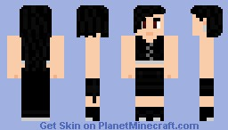 Tifa Lockheart Advent Children Version Minecraft Skin