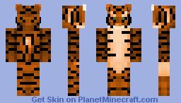 Tiger! Skin series! Minecraft Skin