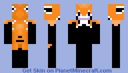 (HD) (3D FACIAL) TIGER HUNTER ((DETAILED)) Minecraft Skin