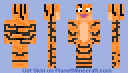Tiger: skin for contest Minecraft Skin