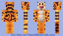 Tigger Minecraft Skin