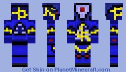 Cyclops A27K [Cyberpunk Skin Contest] Minecraft Skin