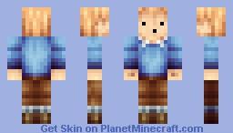 TinTin Minecraft Skin